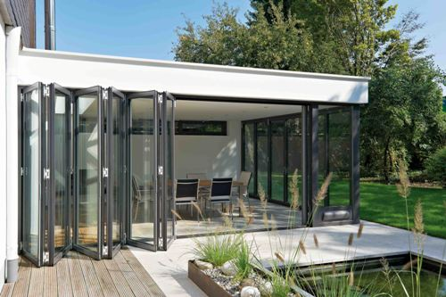 Glaswand Keuken Kosten : Glazen vouwwand ge?soleerd – Busscher Serrebouw