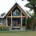 KELLER minimal windows® - Serre met grote glazen ramen en schuifpuien