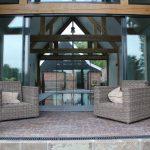 KELLER minimal windows® - Glazen puien en houten gebinten