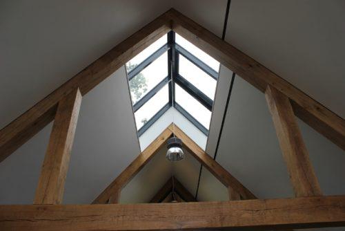 Lichtstraat in het dak