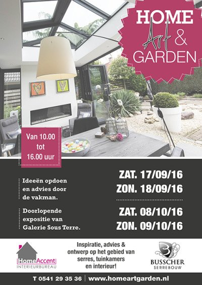 Beurs Home, Art en Garden 2016