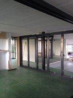 Showroom Eemnes opbouw
