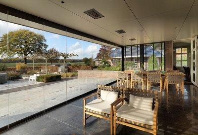 Glazen vouwwand SL-25 veranda