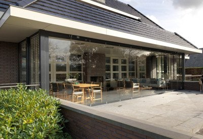 Glazen wand veranda SL-25