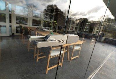 Glaswand veranda