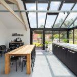 Serre met woonkeuken - Geïsoleerde bedrijfsaanbouw Utrecht