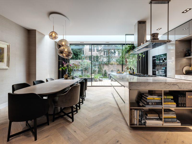 glazen serre aanbouw keuken